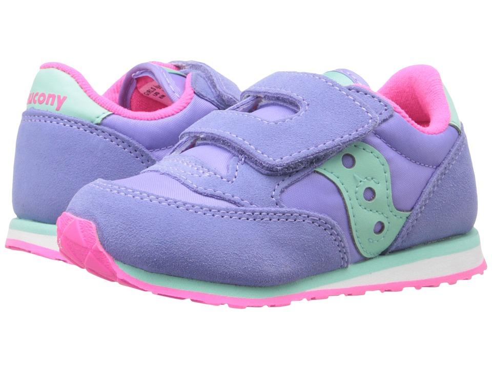 Saucony Kids Baby Jazz HL Toddler/Little Kid Periwinkle Girls Shoes