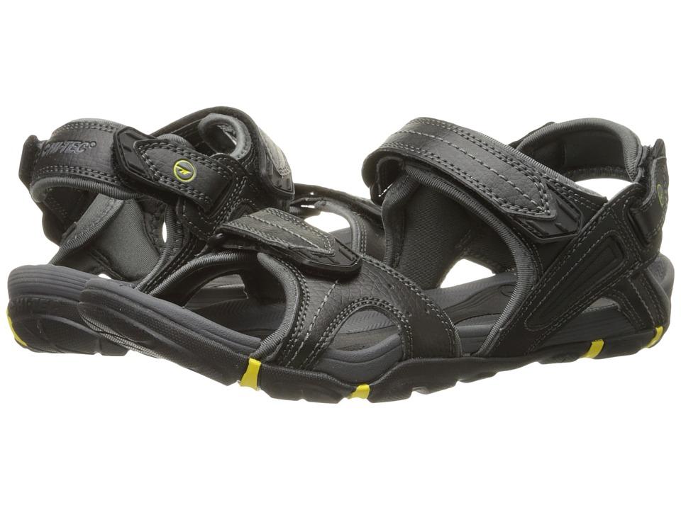 Hi Tec Altitude Lite Strap Black/Charcoal/Sunray Mens Boots