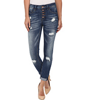 dollhouse - Destructed Capri Jeans in Parker