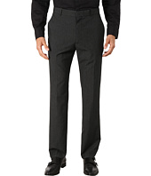 Perry Ellis - Slim Fit Mini Tonal Check Flat Front Pants