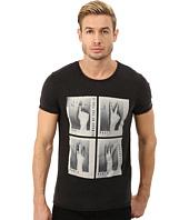 BOSS Orange - Traverso Photo Real Hands Print Short Sleeve Crew T-Shirt