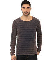 BOSS Orange - Tantillo-H Engineered Jacquard Striped Long Sleeve Crew Knit