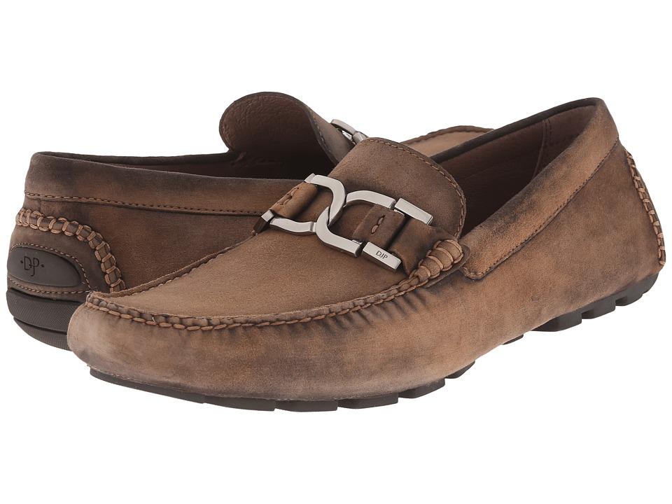 Donald J Pliner Derrik Brown Mens Slip on Dress Shoes