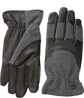 Timberland - GL360034 Melton Wool Deerskin Glove