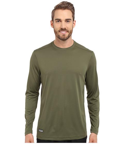 Under Armour UA Tac Tech Long Sleeve Tee - Marine OD Green