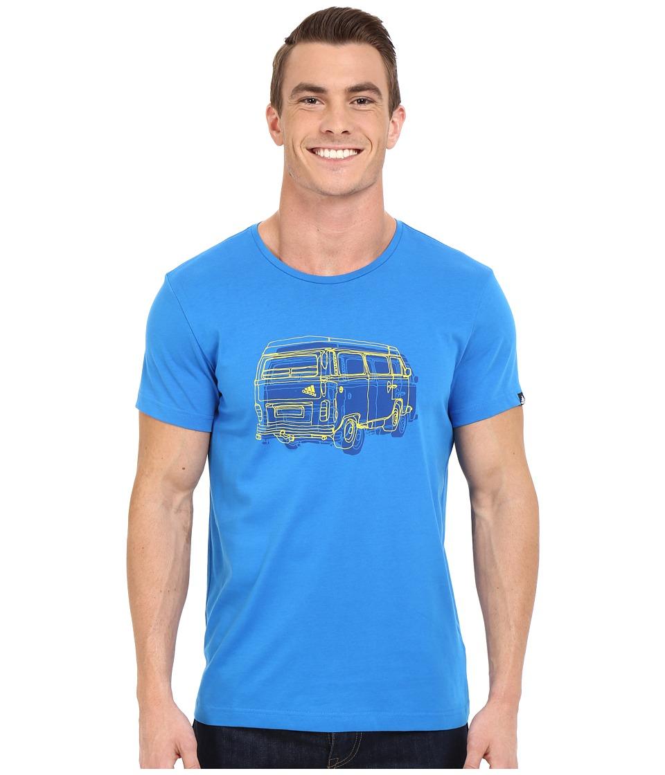 adidas Outdoor - Outdoor Truck Tee (Shock Blue) Men