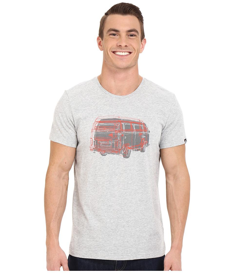 adidas Outdoor - Outdoor Truck Tee (Medium Grey Heather) Men