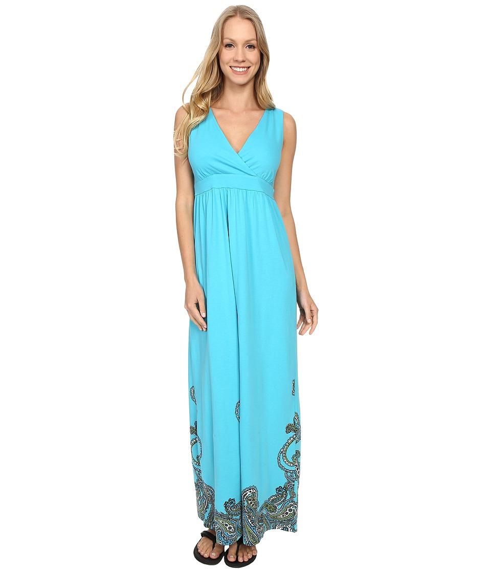 Aventura Clothing Ashby Maxi Dress Peacock Blue Womens Dress