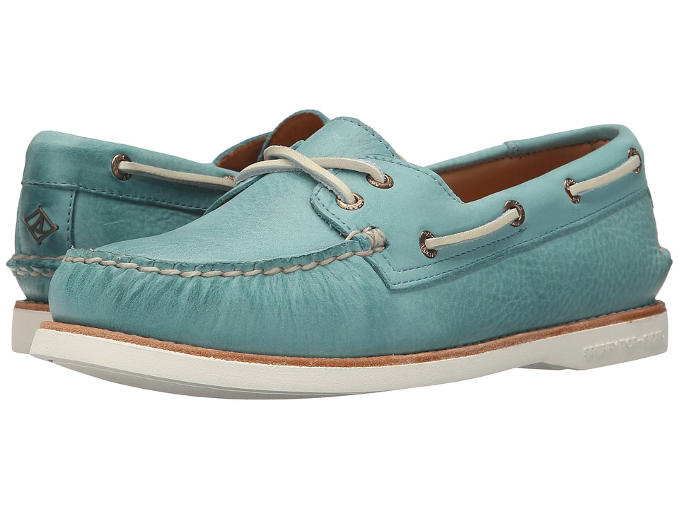 Sperry Top-Sider - Gold Cup A/O Seasonal (Turqoise) Women