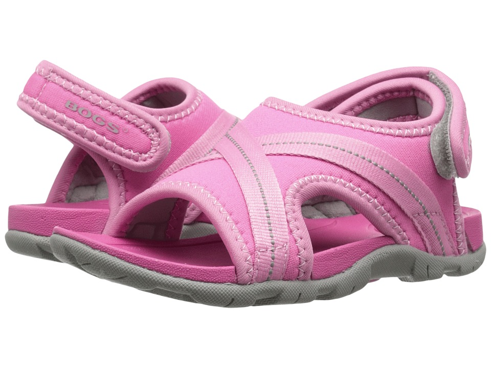 Bogs Kids Bluefish Toddler/Little Kid Pink Multi Girls Shoes