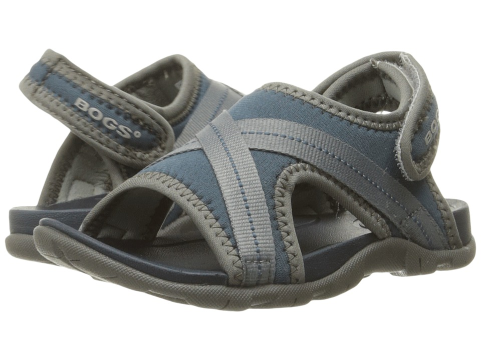 Bogs Kids Bluefish Toddler/Little Kid Navy Multi Boys Shoes