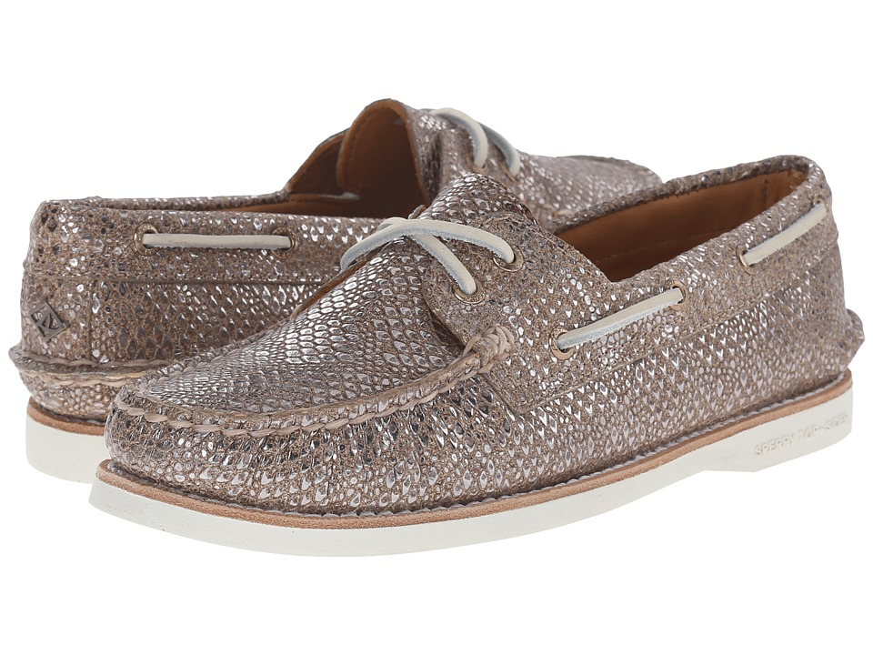 Sperry Top-Sider - Gold Cup A/O Metallic (Tan) Women