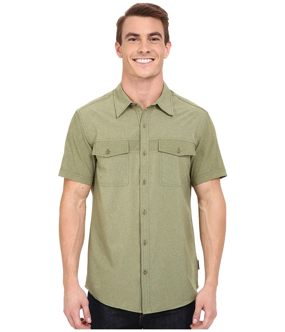 Royal Robbins Diablo Short Sleeve Shirt Aloe Mens Short Sleeve Button Up