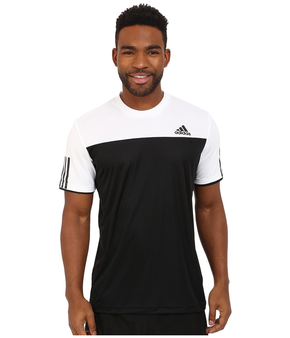 adidas Club Tee (Black/White) Men