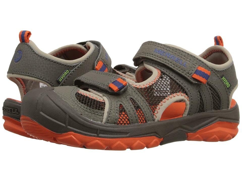 Merrell Kids Hydro Rapid Toddler/Little Kid/Big Kid Gunsmoke/Orange Boys Shoes