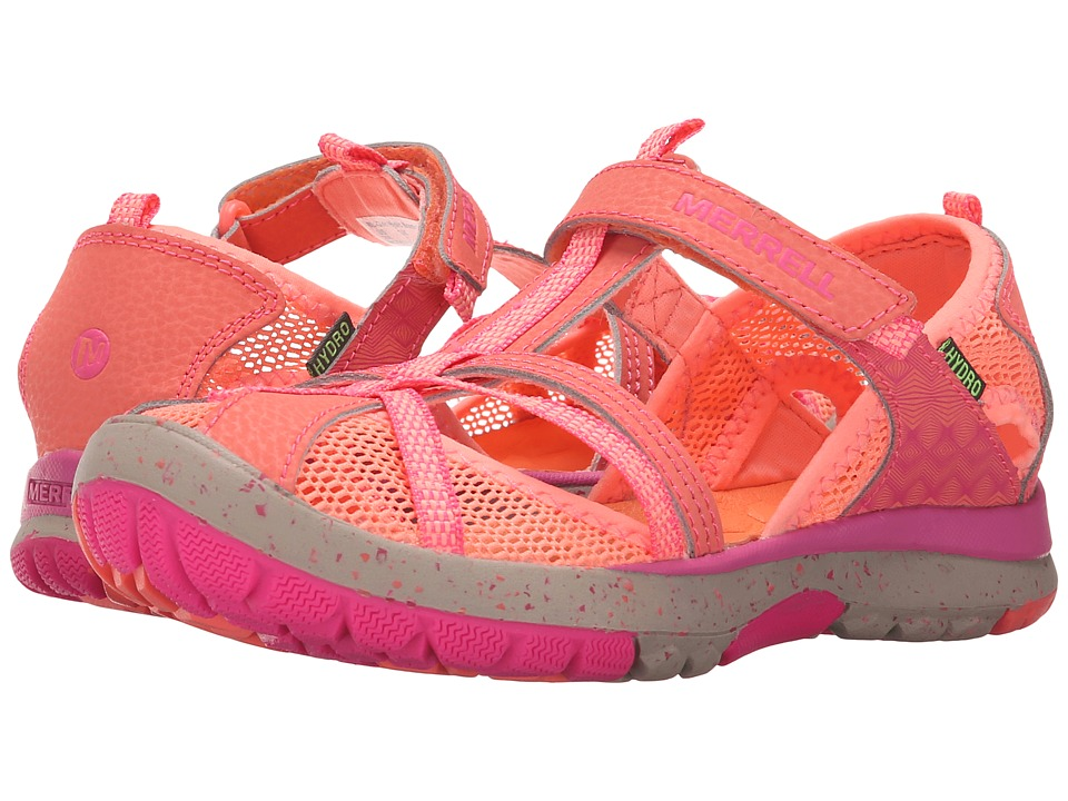 Merrell Kids Hydro Monarch Toddler/Little Kid/Big Kid Coral Girls Shoes