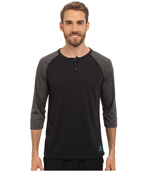 adidas Ultimate 3/4 Sleeve Henley !
