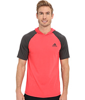 adidas - Ultimate Short Sleeve Hooded Tee