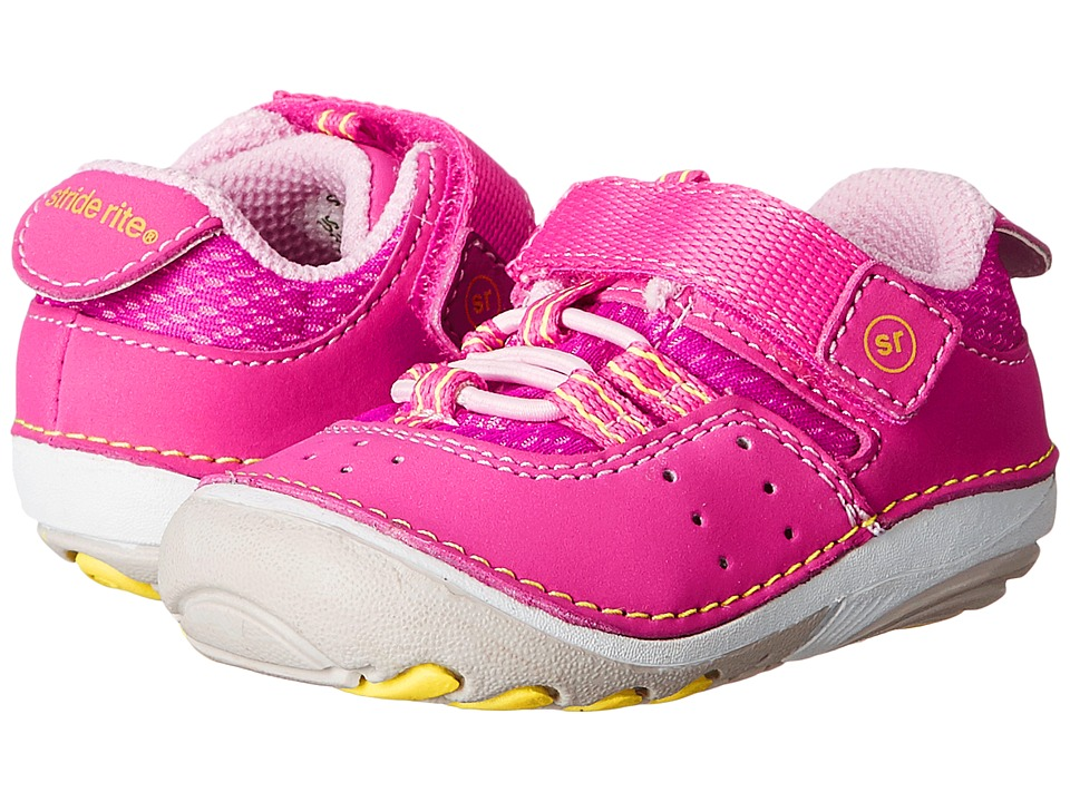 Stride Rite - SM Ines (Infant/Toddler) (Pink) Girls Shoes