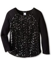 Marciano Kids - Emmy Sequins 3/4 Sleeve Top (Big Kids)