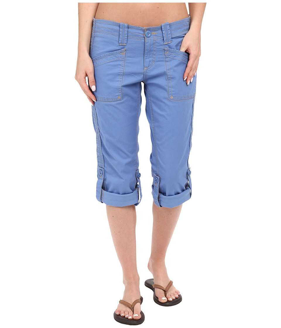 Aventura Clothing Arden Standard Rise Capri Blue Yonder Womens Capri