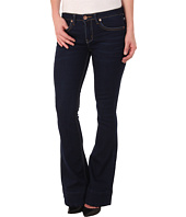 dollhouse - Beckham Five-Pocket Flare Jeans in Dark Blue Wash