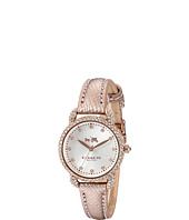 COACH - Delancey 28mm Leather Watch