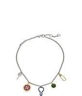 Marc by Marc Jacobs - Lost and Found Keys and Buttons Charm Necklace