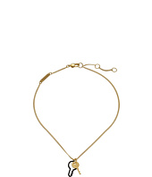 Marc by Marc Jacobs - Lost and Found Double Key Short Pendant Necklace