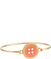 Marc by Marc Jacobs - Lost and Found Logo Button Hinge Cuff Bracelet
