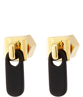 Marc by Marc Jacobs - Lost and Found Colored Zipper Pull Stud Earrings