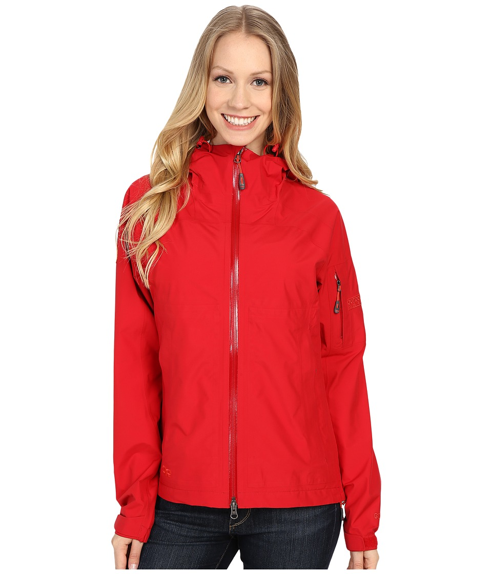 Outdoor Research Aspire Jacket Scarlet Womens Coat