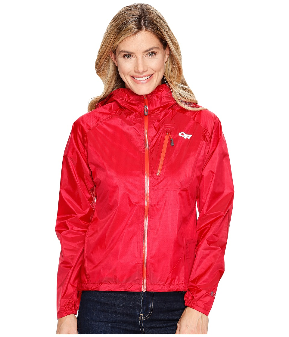 Outdoor Research Helium II Jacket (Scarlet) Women's Jacket