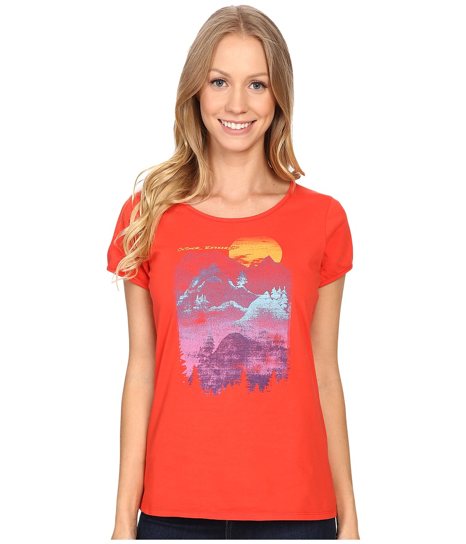Outdoor Research - Windsong Tee (Flame) Women