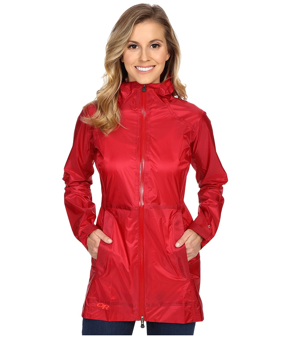 Outdoor Research Helium Traveler Jacket (Scarlet) Women