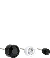 Marc by Marc Jacobs - Key Items Enamel Bezel Set Stud Trio Earrings