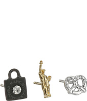 Marc by Marc Jacobs - Gift Giving New York Tiny Stud Earrings 3-Pack