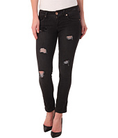 dollhouse - Starr Destructed Capris Roller in Black