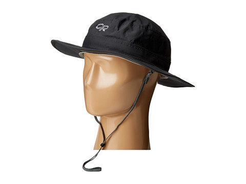 Outdoor Research Helios Rain Hat - Black