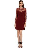 The Kooples - Crepe & Openwork Lace Dress