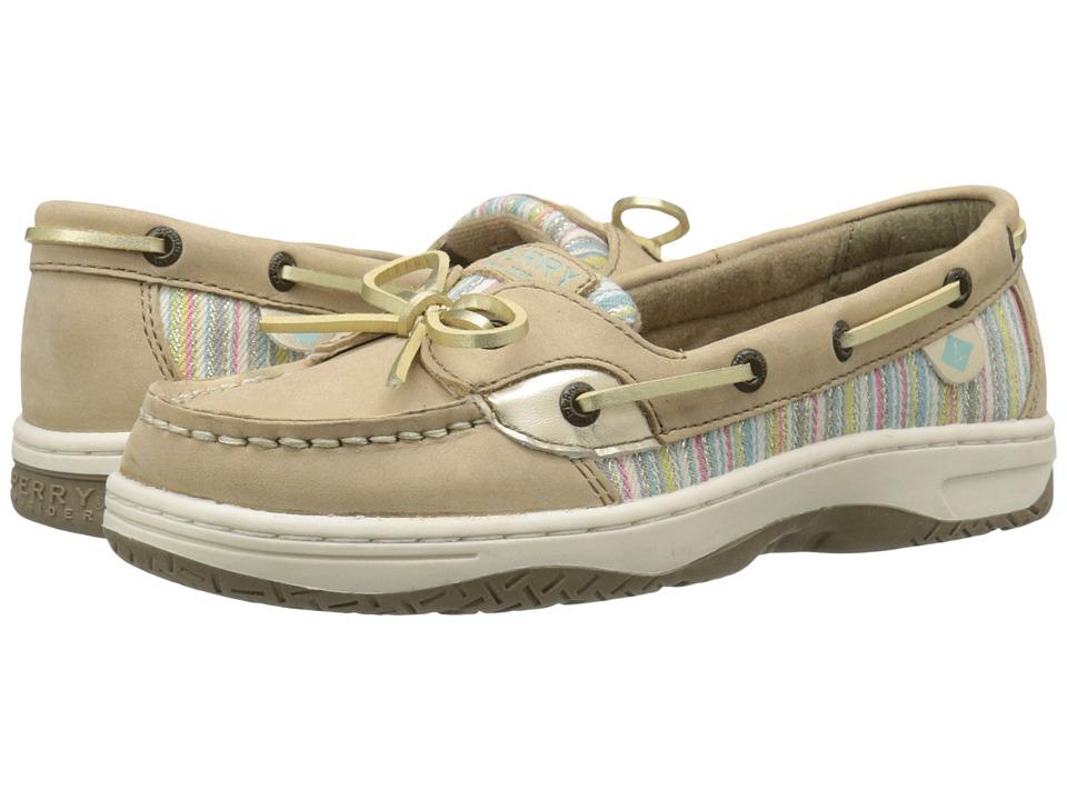 Sperry Top Sider Kids Angelfish Little Kid/Big Kid Silver Cloud/Serape Girls Shoes