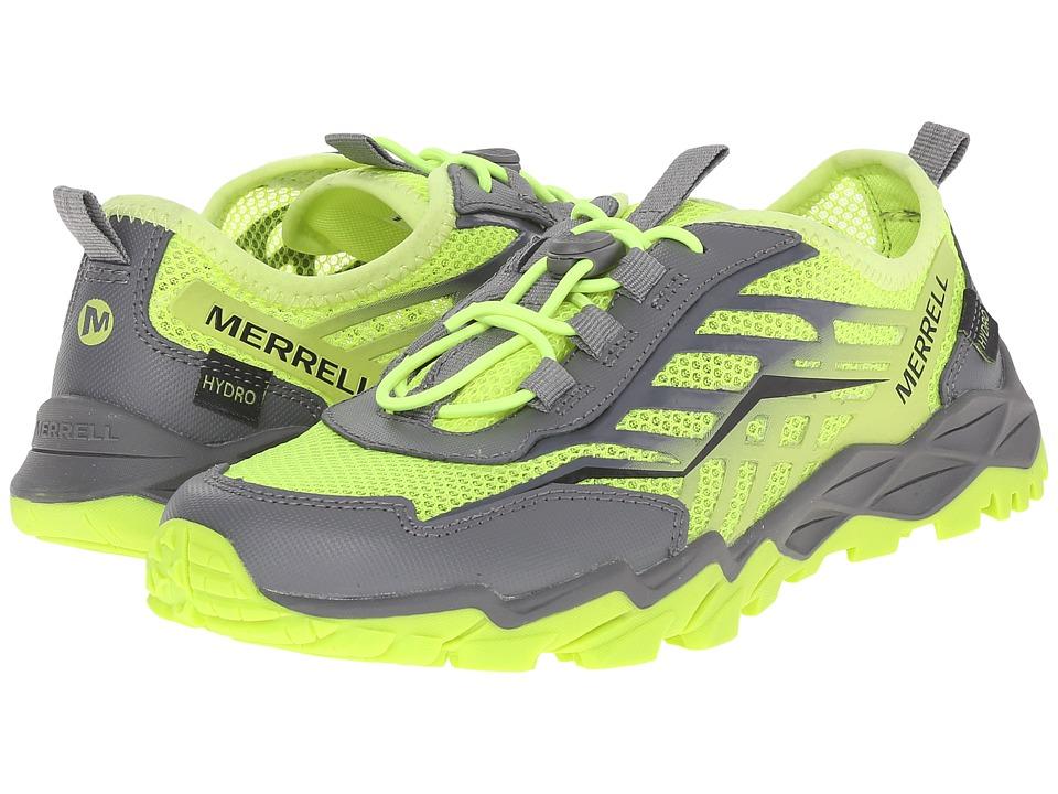Merrell Kids Hydro Run Little Kid Citron/Grey Boys Shoes