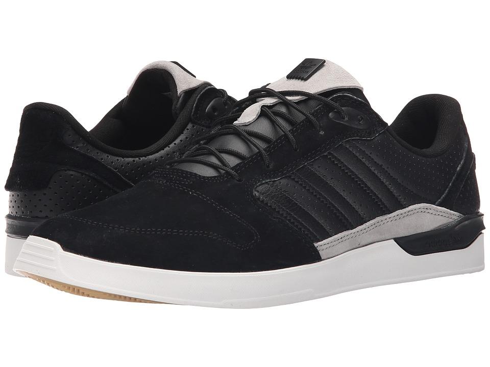 adidas Skateboarding ZX Vulc Classified Black/Black/White Mens Skate Shoes