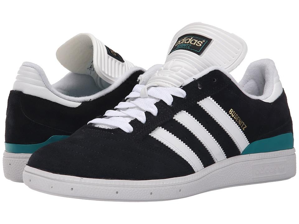 adidas Skateboarding - Busenitz Pro (Black/White/EQT Green) Mens Skate Shoes
