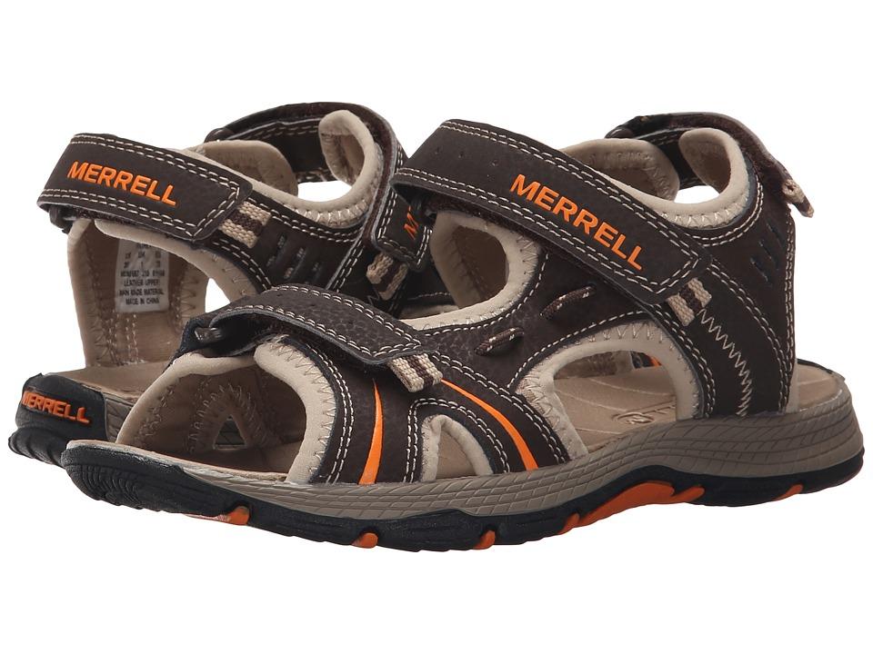 Merrell Kids Panther Toddler/Little Kid Brown/Black Boys Shoes