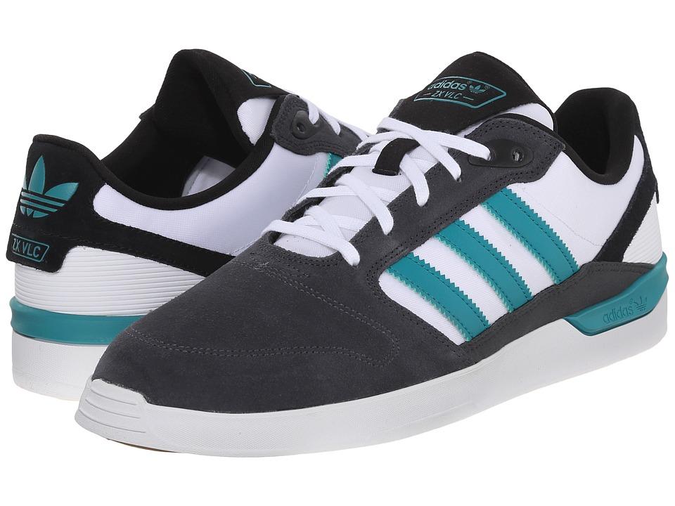 adidas Skateboarding ZX Vulc DGH Solid Grey/EQT Green/White Mens Skate Shoes