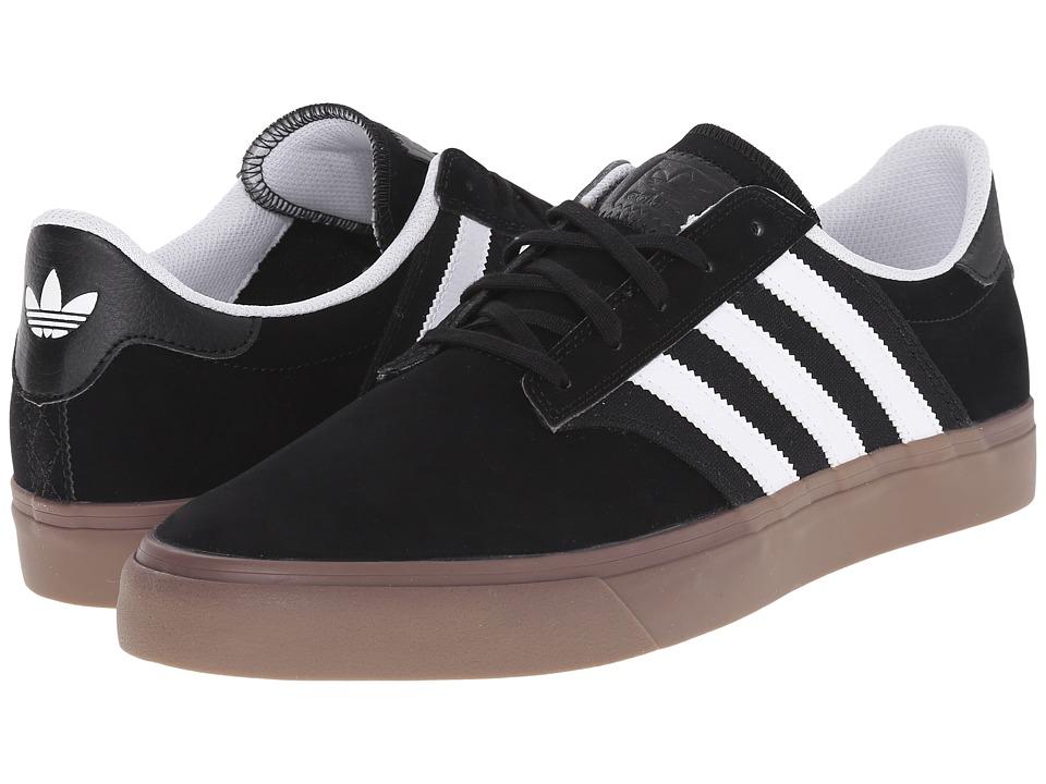 adidas Skateboarding - Seeley Premiere (Black/White/Gum 5) Mens Skate Shoes