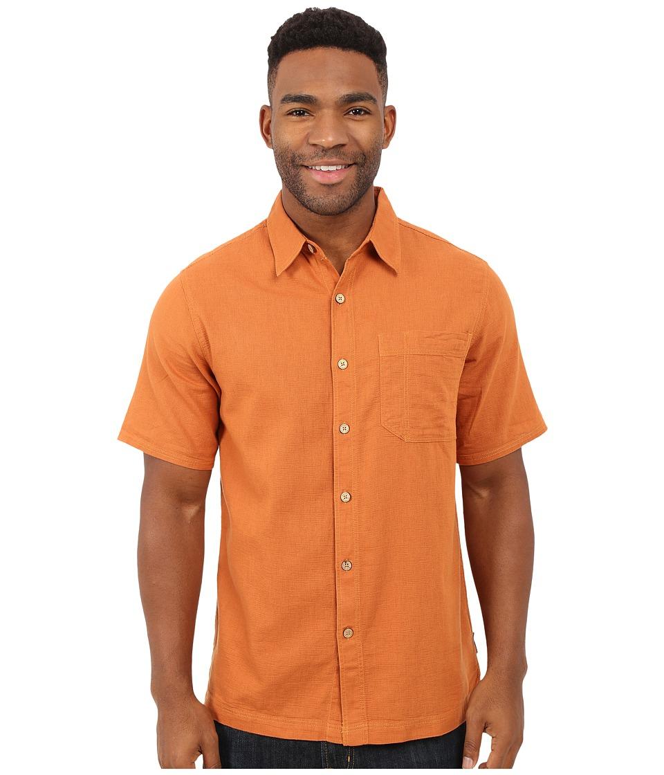Royal Robbins Cool Mesh S/S Acorn Mens Short Sleeve Button Up