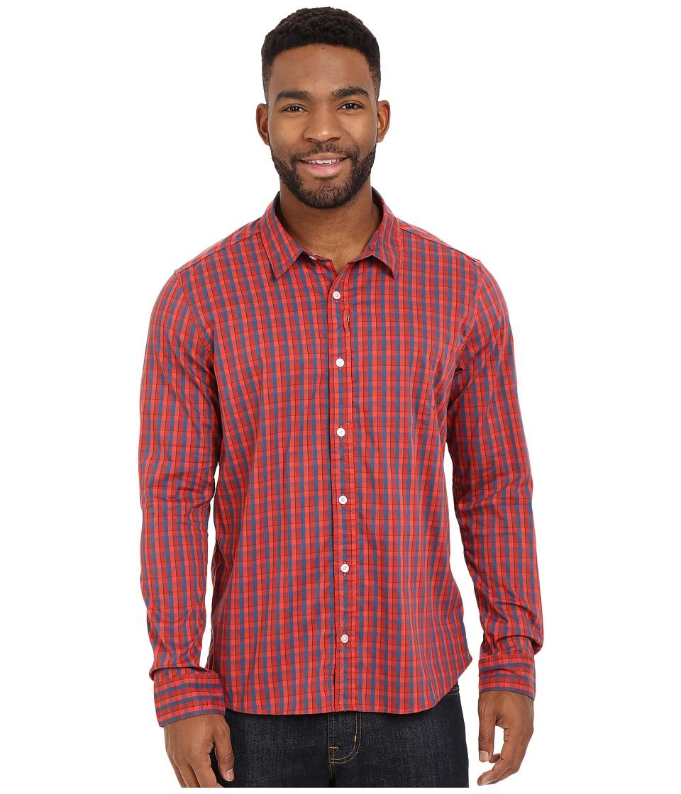 ToadampCo Panorama Long Sleeve Shirt Spark Mens Long Sleeve Button Up