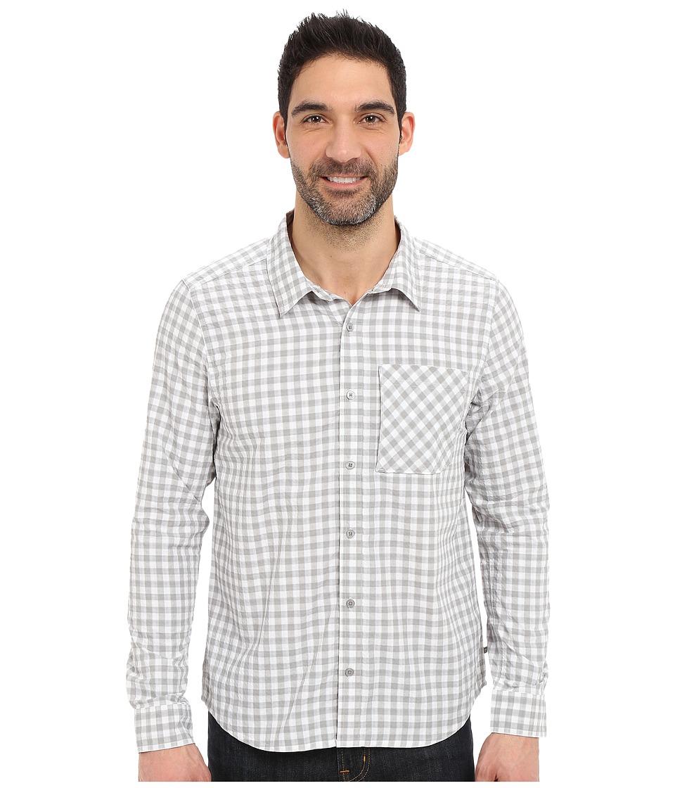 ToadampCo Pilotlight Long Sleeve Shirt Light Ash Mens Long Sleeve Button Up
